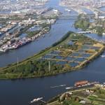 museumsblog: Luftbild Kaltehofe, Foto: Hamburg Wasser