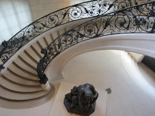 Museumsblog: Le Petit Palais: Treppe