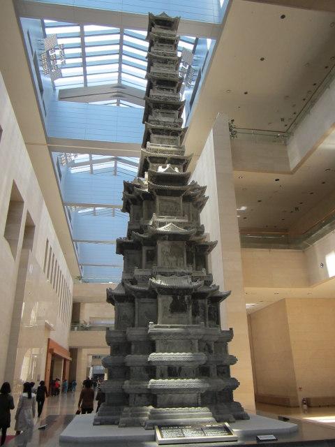 museumsblog: nationalmuseum Seoul - Pagode