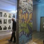 museumsblog: muCEM, galerie de la méditerranée, Stueck Berliner Mauer