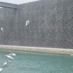 museumsblog: sardinen vor dem mucem, Marseille