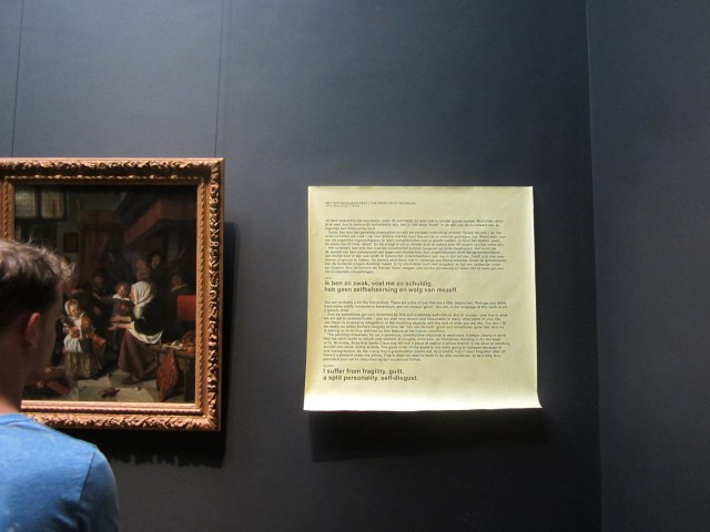 museumsblog: Art ist Therapy im Rijksmuseum